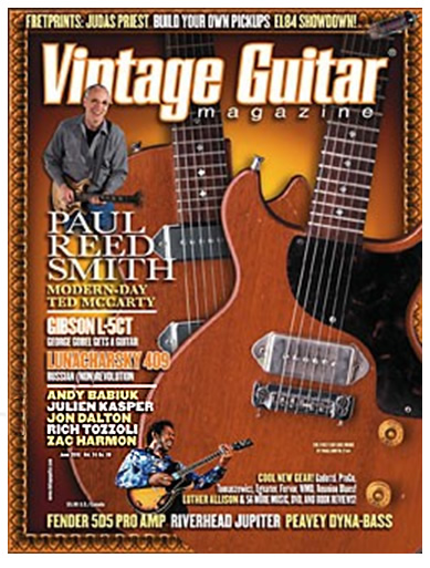 Vintage Guitar Magazine, June 2010